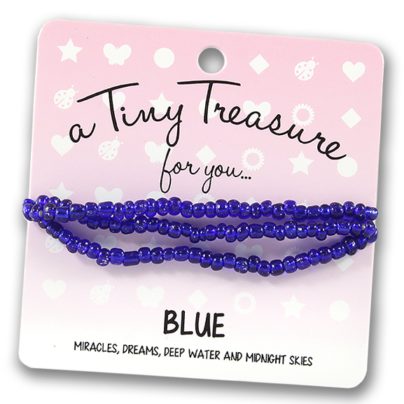 Tiny Treasures Bracelet: Blue